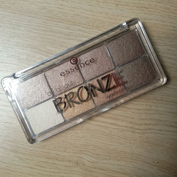 Paleta All About Bronze Eyeshadow